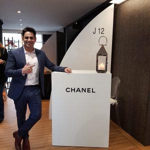 Marom Mor-Chanel J12 event Paris