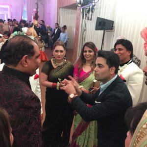 Marom performs at the royal wedding Mumbai